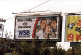 Advertising billboard for WSB Radio morning talk show