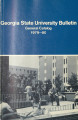 Georgia State University Bulletin, General Catalog, 1979-1980