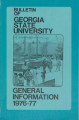 Bulletin of Georgia State University, General Information, 1976-1977