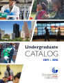 Undergraduate Catalog, Georgia State University, 2015-2016