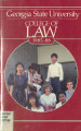 [Bulletin] Georgia State University, College of Law, 1987-1988