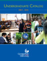 Undergraduate Catalog, Georgia State University, 2014-2015