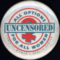All Options For All Women [button], circa 2000s