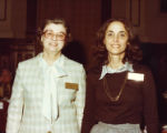 Cathey Steinberg with Mary Jane Galer, Georgia, circa late 1970s.