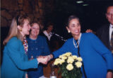 Hillary Clinton, Mary Margaret Oliver, and Cathey Steinberg, Atlanta, Georgia, January 1992.
