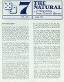 The Natural: A Newsletter from Council Seven, 1986-04