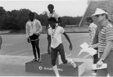 Winners of Eastern Air Lines-sponsored Decathlon Day for Anderson Boys Club, 1982