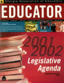 Educator, 2001-2002, Legislative Agenda