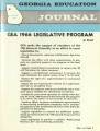 Georgia Education Journal, 1966-01