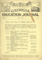 Georgia Education Journal, 1932-05