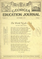 Georgia Education Journal, 1931-11