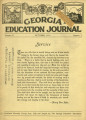 Georgia Education Journal, 1934-10