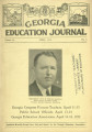 Georgia Education Journal, 1932-04