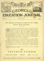 Georgia Education Journal, 1932-03