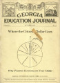 Georgia Education Journal, 1930-10
