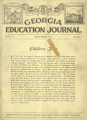 Georgia Education Journal, 1931-09