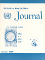 Georgia Education Journal, 1959-01