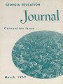 Georgia Education Journal, 1959-03