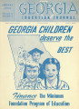 Georgia Education Journal, 1950-01