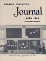 Georgia Education Journal, 1960-04