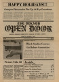 The DeKalb Open Door, 1979-11-29