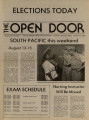 The Open Door, 1982-08-10
