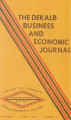 The DeKalb Business and Economic Journal, 1974, fall
