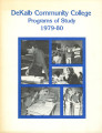 Dekalb Community College Programs of Study, 1979-1980