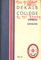 Dekalb College General Catalog, 1967-1968