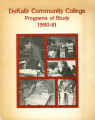 Dekalb Community College Programs of Study, 1980-1981