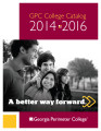 GPC College Catalog, 2014-2016