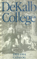 Dekalb College Catalog, 1993-1994