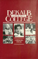 Dekalb Community College Catalog, 1985-1986