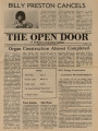 The Open Door, 1974-01-04