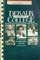 Dekalb Community College Catalog, 1984-1985