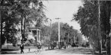 Peachtree Street: view from Ellis Street, 1898
