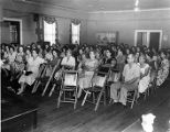 Tobacco workers meeting in their union hall, Charleston, S.C., circa 1950s.