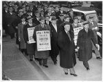 United Furniture Workers of America picket line