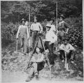 Norfolk and Western Railway Company surveyors, C. J. French collection