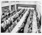 Dining room at a labor event
