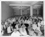 Large Labor meeting