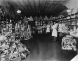 Interior of a David Pender grocery, 1926