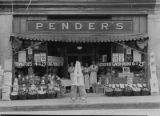 Exterior of a Pender's Grocery, Thomasville, North Carolina, June 12, 1935.