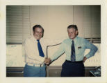 National Building and Construction Trades Department Area Director Robert E. Shadix and Red Wise...