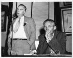 Phillip Clowes speaking at Tennessee State CIO meeting, Knoxville, Tennessee, June 1949.