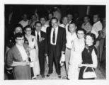 Governor Clement and others at the 1954 Tennessee State CIO convention, Memphis, Tennessee, June...