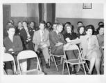 ACWA members at a staff reception, Tennessee, Knoxville, Tennessee, February 4, 1951.