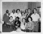 Steel delegation to a CIO-PAC Family Participation Conference, Roanoke, Virginia, July 31, 1954.