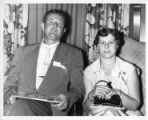 Couple at a CIO-PAC Family Participation Conference, Roanoke, Virginia, July 31, 1954.