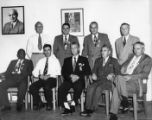 CIO officials at a Steelworkers District 35 Conference, Alcoa, Tennessee, October 6, 1951.